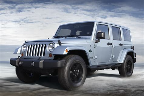 jeep arctic jeep wrangler arctic special edition photos and details