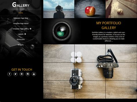 themes photo gallery theme directory free wordpress themes
