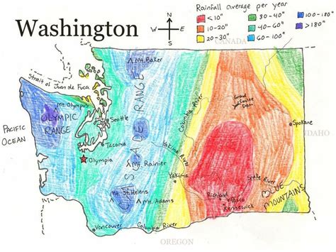washinton map washington state printable map