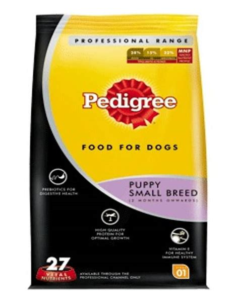 Pedigree Small Breed 1 5 Kg pedigree food puppy small breed professional 1 2kg