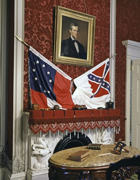 confederate white house blue gray review an american civil war site