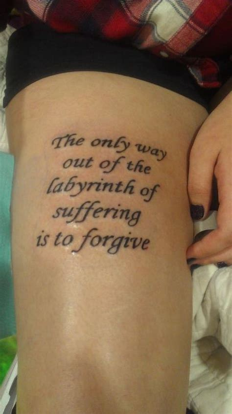 side body tattoo quotes see more forgive quote tattoo on side body women body