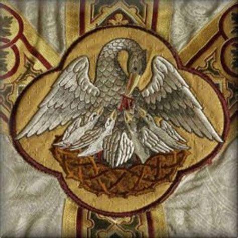 el divo ave instaurare omnia in christo divino pelicano