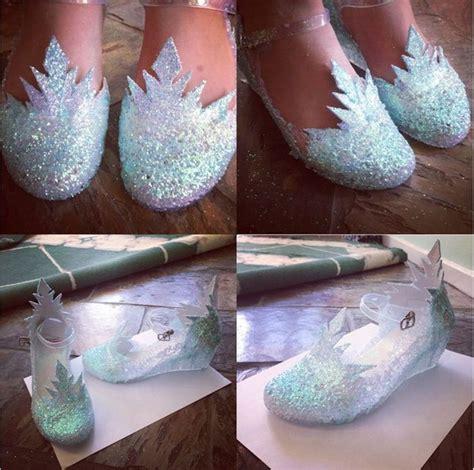 diy elsa shoes 37 diy disney frozen inspired crafts hative