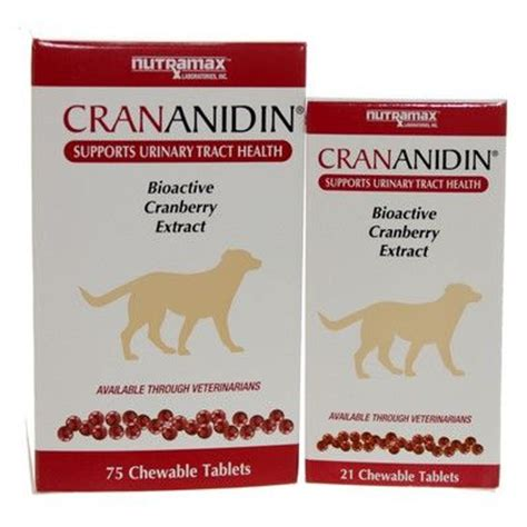 cranberry pills for dogs crananidin cranberry extract urinary health vetrxdirect