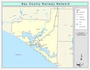 bay county railway network color 2009