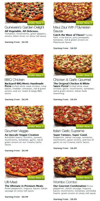 Round Table Pizza Silverdale Thelt Co Table Pizza Menu