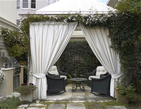 gazebo drapes outdoor gazebo drapes ideas design home cabana curtains