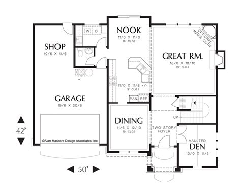 mascord floor plans mascord house plan 22151a the dearborn