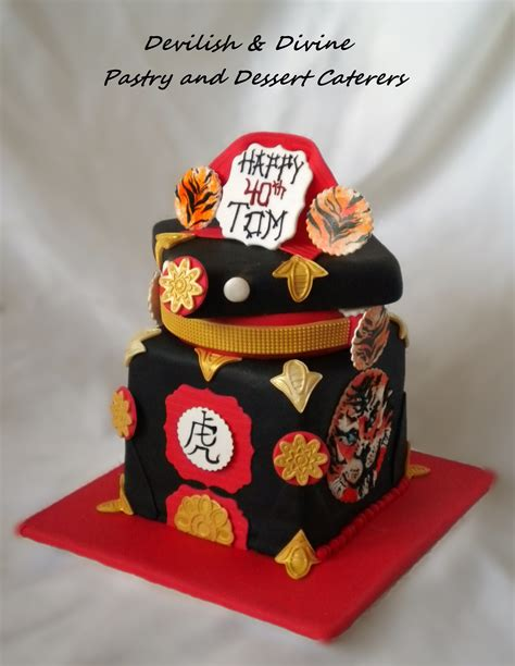 japanese themed 40th bday cake cakecentral com