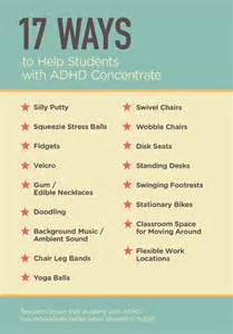 how to better in school 17 ways to help students with adhd concentrate edutopia