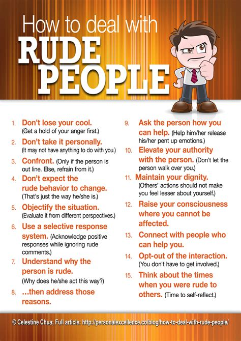 7 Ways To Deal With Rude At Work by How To Deal With Rude The Work Related