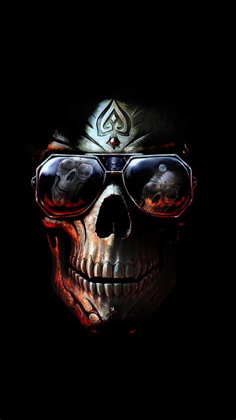 wallpaper iphone skull badboy skull iphone wallpaper hd