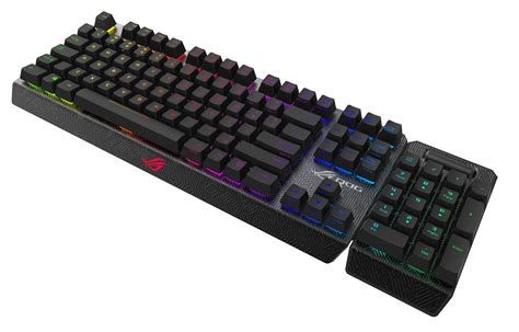 Keyboard Asus Rog Claymore Ces 2016 Asus Rog Showcases Gaming Innovations Republic Of Gamers