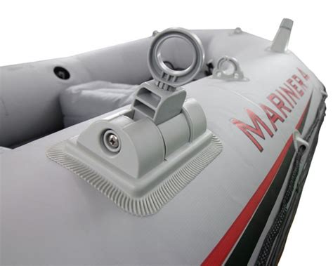vissen in opblaasboot intex mariner 4 set vierpersoons opblaasboot opblaasbootshop