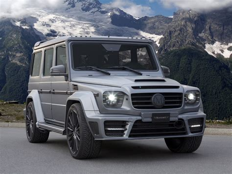 mansory mercedes g63 mansory mercedes g63 gronos with 840 horsepower