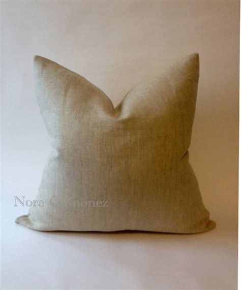 Decorative Pillow Covers With Zippers by Decorative Linen Throw Pillow Cover Invisible Zipper