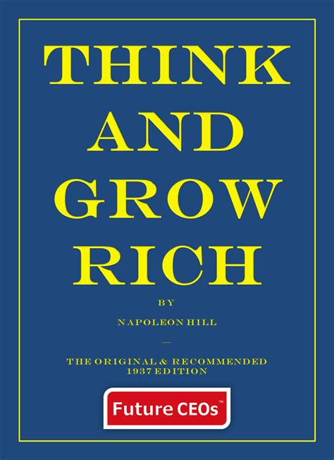 think and grow rich 1937 edition ebook think and grow rich napoleon hill s recommended 1937 edition