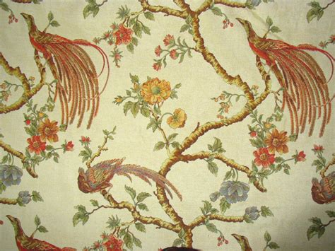 upholstery fabric with birds italian peacock bird tapestry upholstery fabric natura