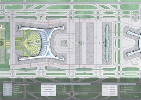 Floor Plan Los Angeles Incheon Airport Competition Press Kit Complexitys