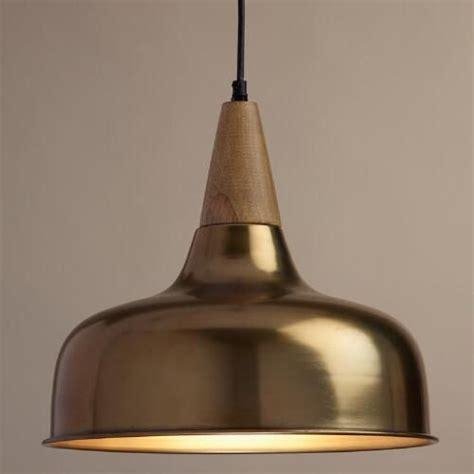 25 best ideas about brass pendant light on