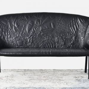 doodle leather combination sided sofa that for a small room layout