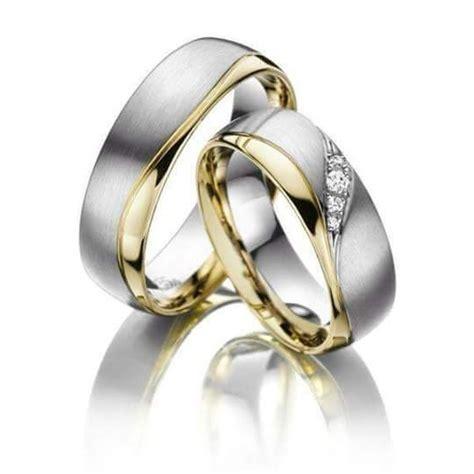 imagenes de anillos de matrimonio en oro blanco anillos de matrimonio en plata y oro 14k 3 700 00 en