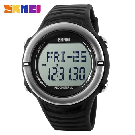 skmei sport watches rate monitor digital