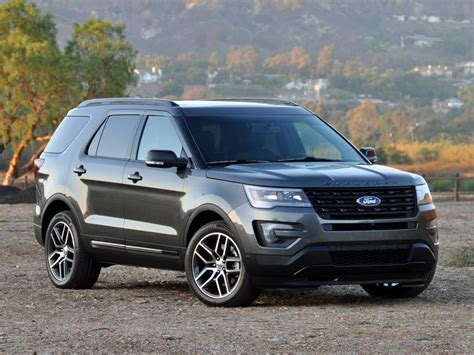 ford jeep 2016 2016 ford explorer overview cargurus