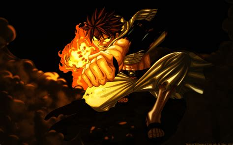 wallpaper keren fairy tail natsu dragneel fairy tail hd wallpaper 1529497
