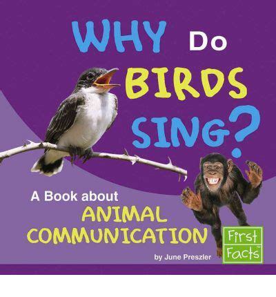 why do birds sing a book about animal communication