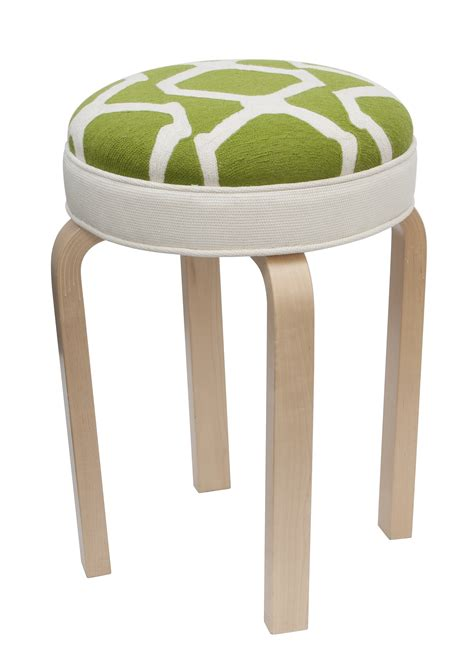 What Does It When Your Stool Is Lime Green by Furniture Stool Arbor Lime Judy Ross Textiles