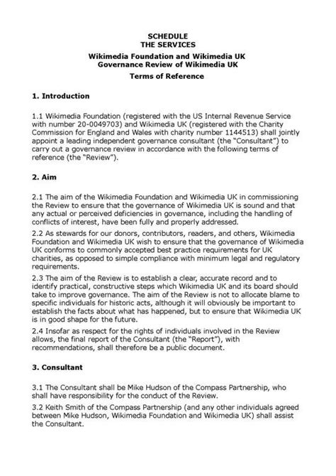 terms of reference template terms of reference template for consultant best business