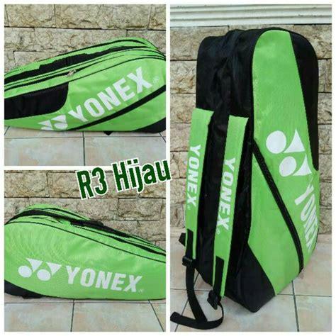 Tas Badminton Raket Yonex 2 Sleting 3 jual tas raket badminton bulutangkis yonex r3 murah renggo sport