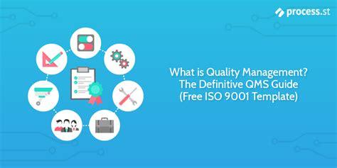 quality management  definitive qms guide