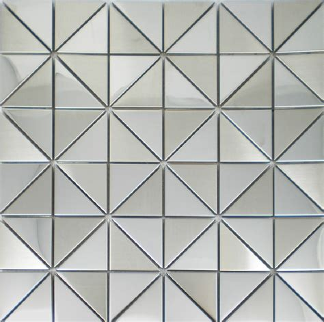 new mosaics stainless steel tile silver decorative kitchen