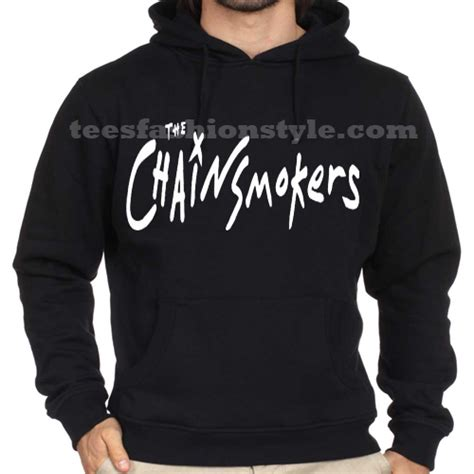 Hoodie Sweater Chain Smokers Bungsu Clothing hoodies chainsmokers unisex size s 3xl