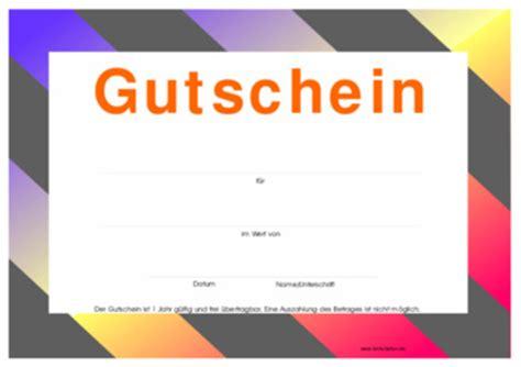 Vorlage Gutschein Modern Gutschein Modern Vorlage Muster Zum Herunterladen
