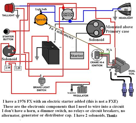 harley regulator wiring diagram regulator free