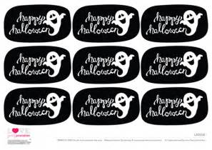 free black amp white halloween printables a to zebra