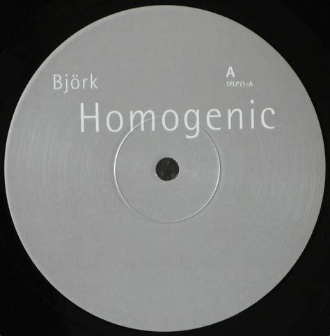 vinyl format cd bjork homogenic uk original vinyl rip in 24 bit 96 khz