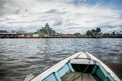 boating license malaysia river kapuas boating at the equator in borneo stock photo