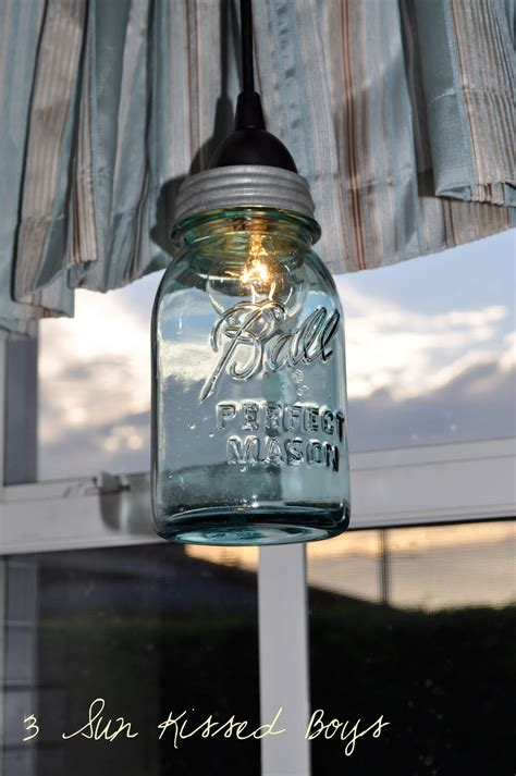 mason jar pendant light diy remodelaholic 14 great diy pendant lights and link party