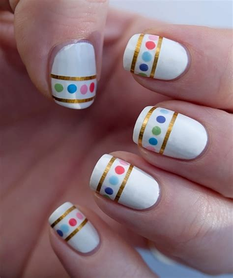 easy nail art with tape step by step nail art designs step by step method pakifashionpakifashion