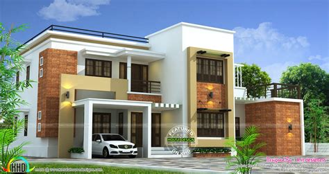 modern 4 bedroom house 2660 sq ft 4 bedroom modern home kerala home design and