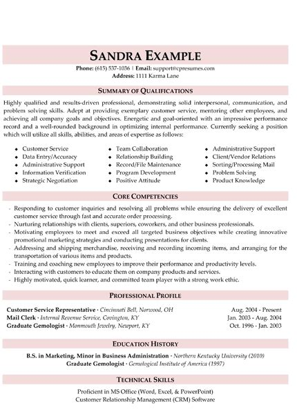resume summary examples entry level nardellidesign com