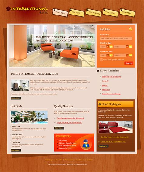 site template templates website http webdesign14