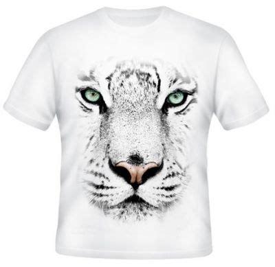 kaos 3d harimau 8 putih kaos 3d macan 2 kaos premium