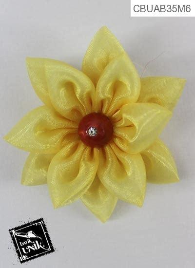 bros bunga amarilis organdi bross etnik murah