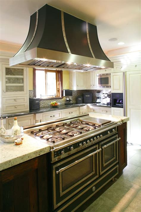 kitchen island with range the 17 best images about kitchen islands hoods on transitional kitchen the family
